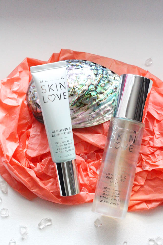 Becca Skin Love Brighten & Blur Primer | Becca Skin Love Glow Shield Prime & Set Mist